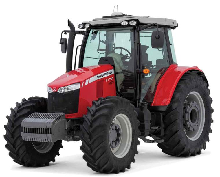 Revista PRODUCCION: tractor  serie MF-6700R