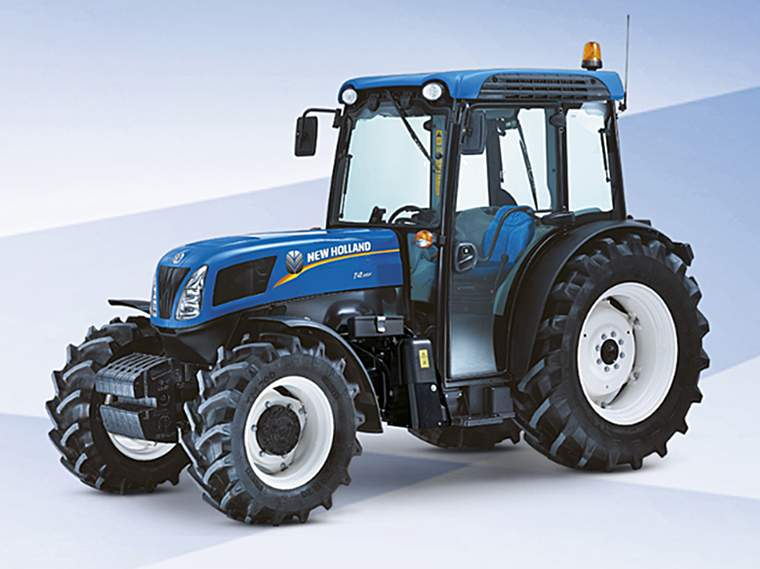 Revista PRODUCCION: Tractores New Holland T4F
