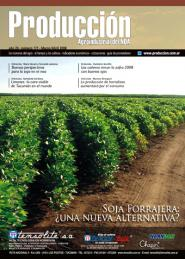 Portada Revista PRODUCCION (Marzo / Abril 2008)
